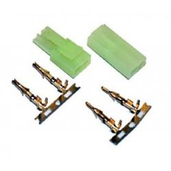 Para konektorów Mini Tamiya z pinami - zestaw 10 kompletów