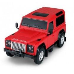 Land Rover Denfender 1:24 RTR (zasilanie na baterie AA) - Czerwony