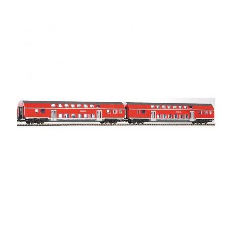 Piko zestaw wagonów osobowych DB REGIO kpl 2szt - luz