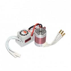 Silnik bezszczotkowy Rocket Platinum 3650 5200KV + ESC 45A