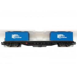 Piko czteroosiowa platforma z kontenerami Trans Container - luz