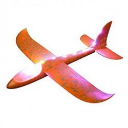 Szybowiec z dwoma trybami latania (rozpiętość 480mm, diody LED) - pomarańczowy