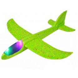Szybowiec z dwoma trybami latania (rozpiętość 480mm, diody LED) - seledynowy