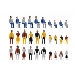 Kibri 38110 figurki dorośli i dzieci skala H0