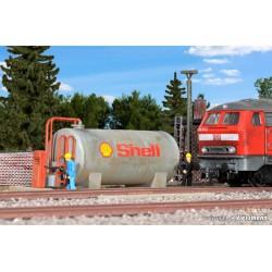 Kibri 39430 stacja paliwowa Shell - skala H0