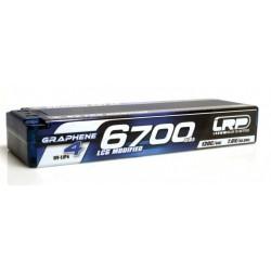6700mAh 7.6V (2S) 120C/60C HardCase LRP GRAPHENE