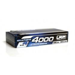 4000mAh 7.6V (2S) 120C/60C HardCase LRP GRAPHENE