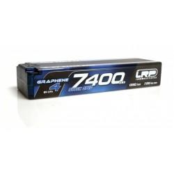 7400mAh 7.6V (2S) 120C/60C HardCase LRP GRAPHENE