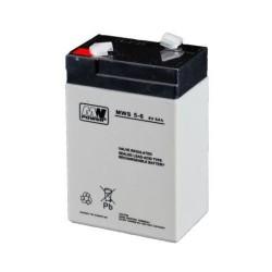 Pb 6V 5Ah bezobsługowy (waga 1kg, prąd ład. 1.5A, prąd rozład. 50A)