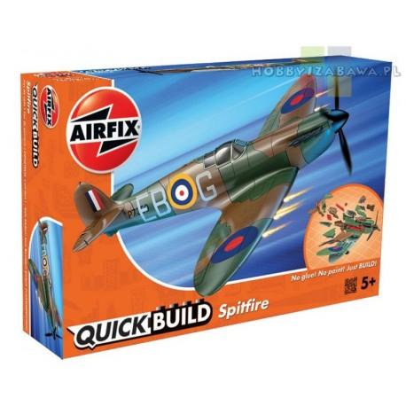 Klocki Airfix QUICKBUILD J6000 Spitfire samolot do składania modelarstwo plastikowe