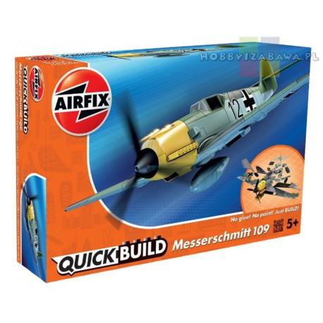 Klocki|Airfix|QUICKBUILD|J6001|Messerschmitt 109|samolot do składania|modelarstwo|plastikowe