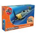 Airfix J6001 Messerschmitt 109 samolot do składania QUICK BUILD