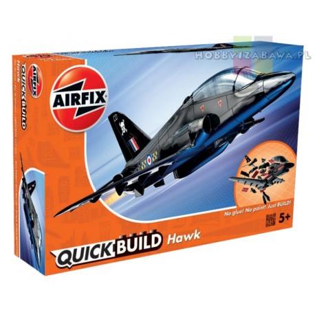 Klocki|Airfix|QUICKBUILD|J6003|BAe Hawk|samolot|model|do składania|modelarstwo|plastikowe