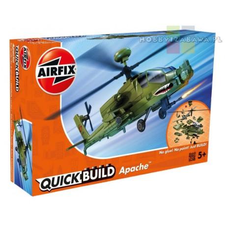 Klocki|Airfix|QUICKBUILD|J6004|Apache|Helicopter|helikopter|do składania|modelarstwo|plastikowe