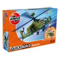 Airfix J6004 Apache Helicopter helikopter do składania QUICK BUILD - licencja BOEING