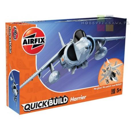 Klocki|Airfix|QUICKBUILD|J6009|Harrier|samolot do składania|modelarstwo|plastikowe