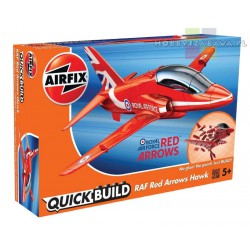 Airfix J6018 RAF Red Arrows Hawk model do składania - licencja Royal Air Force
