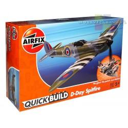 Airfix J6045 D-Day Spitfire samolot do składania QUICK BUILD - Nowość 2019r
