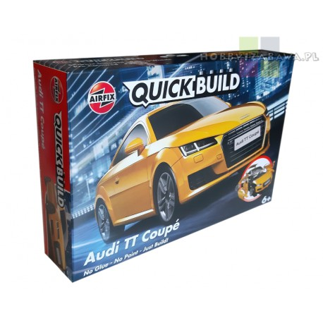 Airfix|J6034|model|Audi|TT|Coupe|QUICK BUILD|klocki|6+|nowość 2020