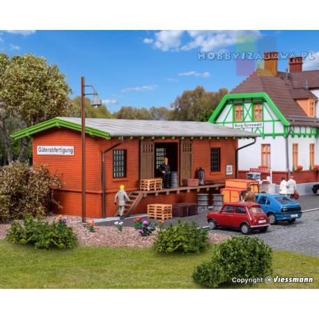 Kibri|39459|magazyn kolejowy|skala H0|budownictwo|modelarstwo