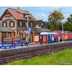 Kibri 39558 peron kolejowy Hofheim