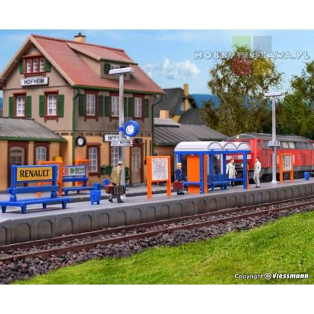 Kibri|39558|peron|kolejowy|Hofheim|model|modelarstwo|skala H0|1:87