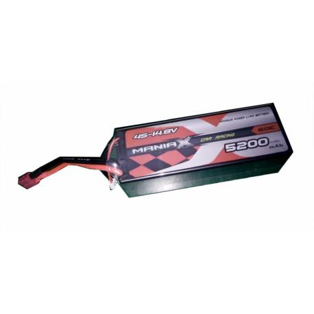 5200mAh 14.8V 60C HardCase ManiaX