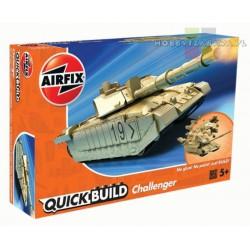 Airfix J6010 Challenger Tank czołg do składania QUICK BUILD