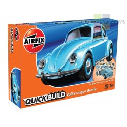 Airfix J6015 VW Beetle model do składania QUICK BUILD