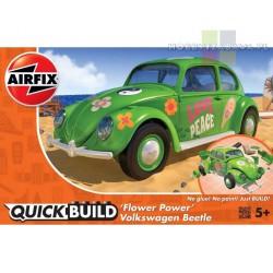 Airfix J6031 VW Beetle model do składania, licencja Volkswagen - Moc Kwiatów - QUICK BUILD