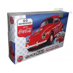 Airfix J6048 VW Beetle Coca-Cola® - auto z klocków QUICK BUILD