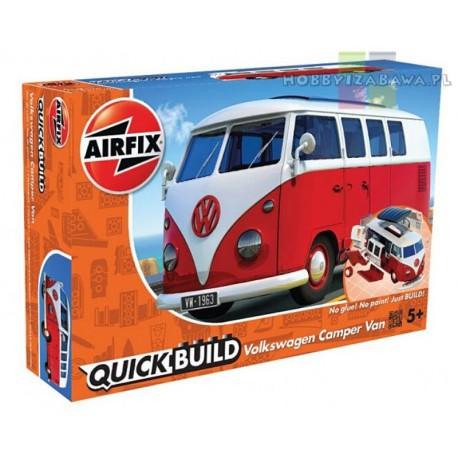 Klocki Airfix QUICKBUILD J6017 VW Camper Van samochód kempingowy do składania, modelarstwo