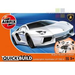 Airfix J6019 Lamborghini Aventador White model do składania QUICK BUILD