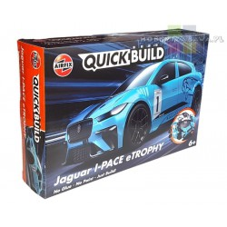 Airfix J6033 Jaguar I-PACE eTROPHY QUICK BUILD - licencja Jaguar Land Rover