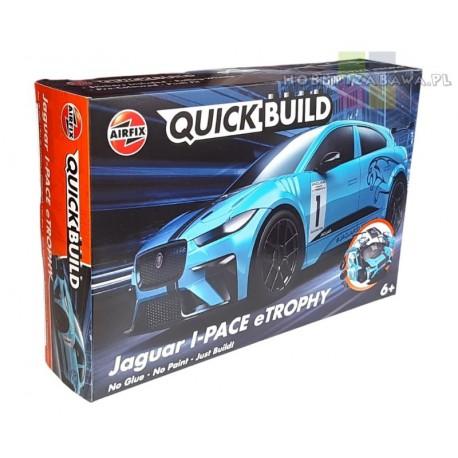 Klocki Airfix QUICKBUILD J6033 Jaguar I-PACE eTROPHY auto do składania, modelarstwo