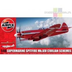 Airfix A05139 Supermarine Spitfire Mk.XIV Civilian Schemes 1:48 nowość 2020/2021