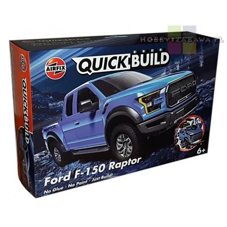 Airfix J6037 Ford F-150 Raptor model do składania QUICK BUILD - licencja Ford