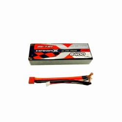 8400mAh 7.6V 100C HardCase ManiaX