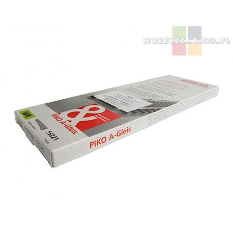 Piko 55221 rozjazd zwrotnica prosta prawa WR A-Gleis skala HO