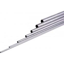 Rurka aluminiowa O 9,0x8,1x1000mm