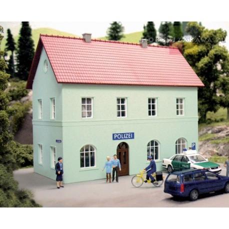 Piko 61836 plastikowy model do sklejenia - komisariat policji, budynek w skali H0