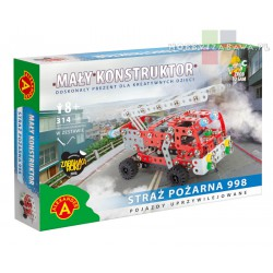 ALEXANDER: Zestaw - Straż Pożarna 998 - 314 el 8+