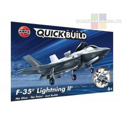 Airfix J6040 odrzutowiec F-35B Lightning ll do złożenia z klocków QUICK BUILD