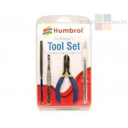 Humbrol AG9150 Tool Set mały zestaw narzędzi dla modelarza