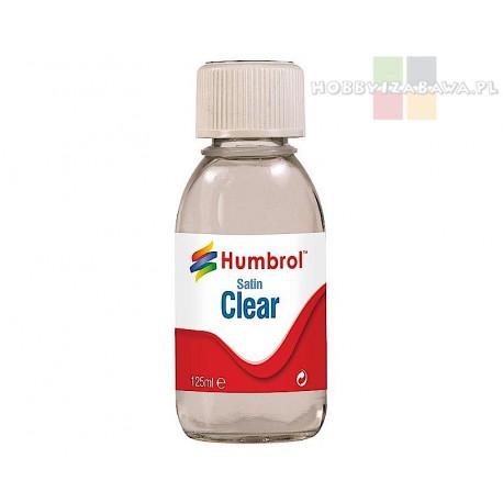 Humbrol AC7435 Satin Clear lakier bezbarwny satynowy 125 ml
