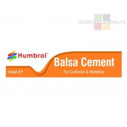 Humbrol AE0603 Balsa Cement klej w tubce do drewna 24 ml
