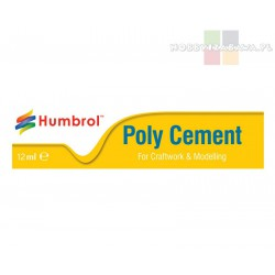 Humbrol AE4021 Poly Cement klej w tubce 12 ml