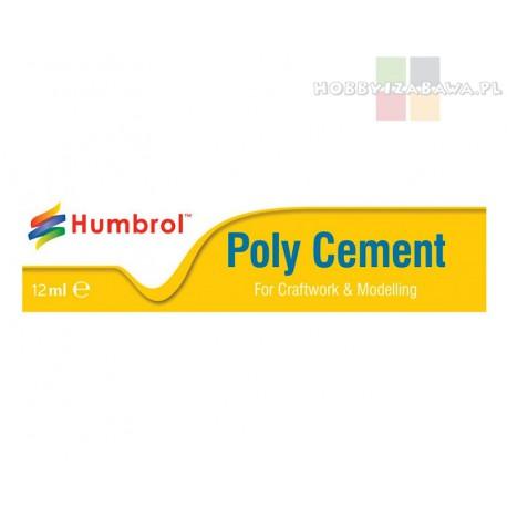 Humbrol AE4021 Poly Cement klej w tubce 12 ml modelarstwo chemia modelarska