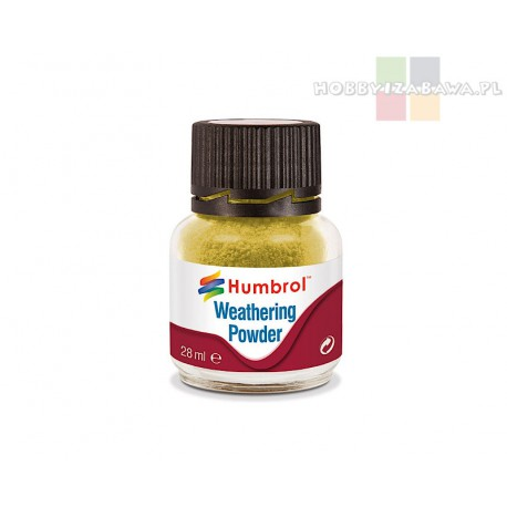Humbrol AV0003 pigment Weathering Powder SAND 28 ml