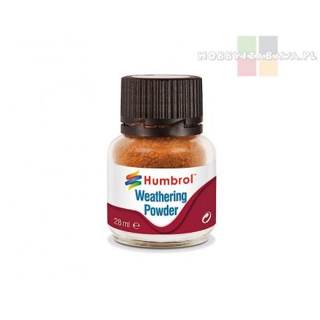 Humbrol AV0008 pigment Weathering Powder RUST 28 ml